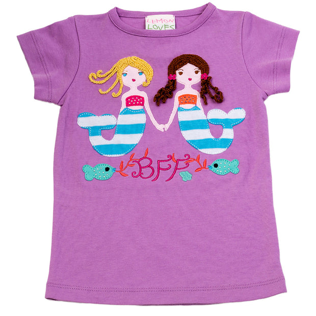 Mermaid BFF Tee