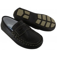 Driving Moccasin Penny Loafer - Brown