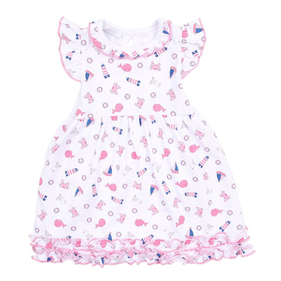Baby Sailor Dress Set