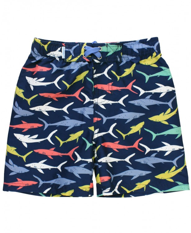 Sharky Swim Trunks