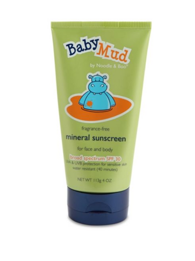 Baby Mud Mineral Sunscreen