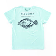 Blue Light Flounder Performance Tee