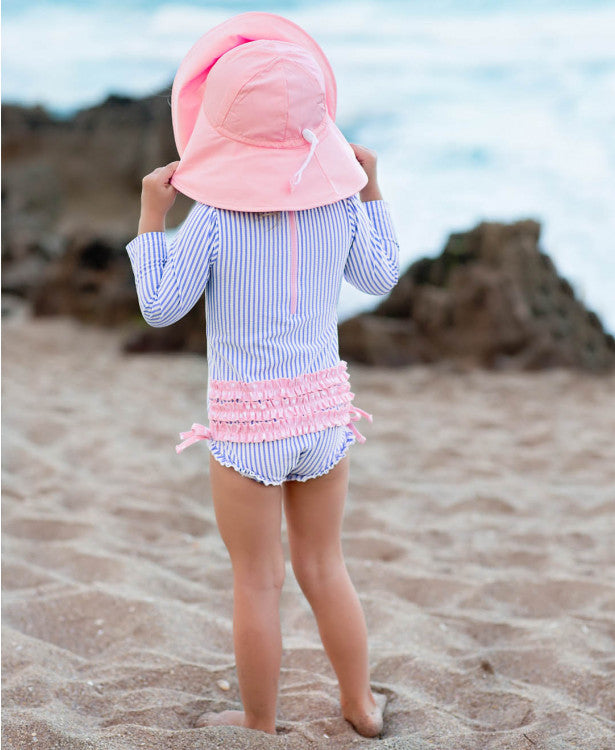 Pink Sun Protective Hat