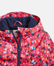 Inky Ditsy Raindance Waterproof Coat