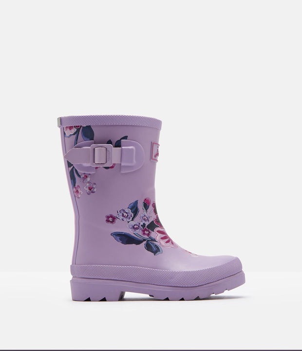 Printed Lilac Floral Rain boots