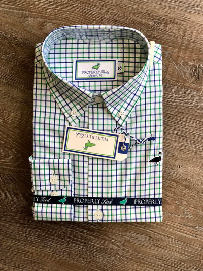 Lil' Ducklings Button Down - Market