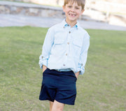 Little Angler Shorts - Navy