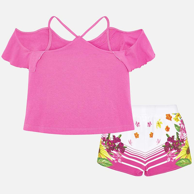 Orchid Short Set