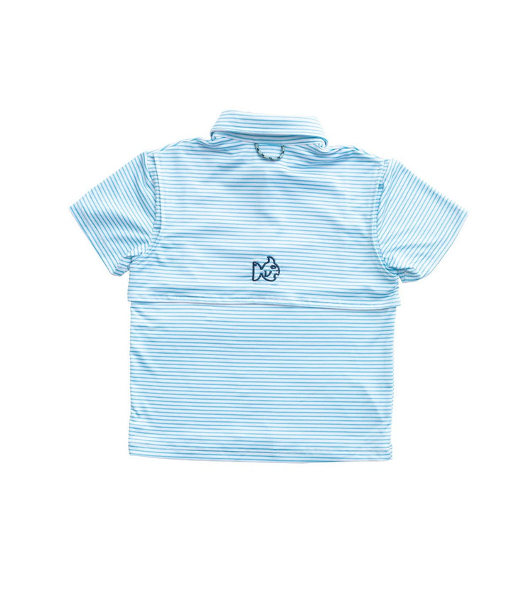 Performance Polo - Aquarius Stripe