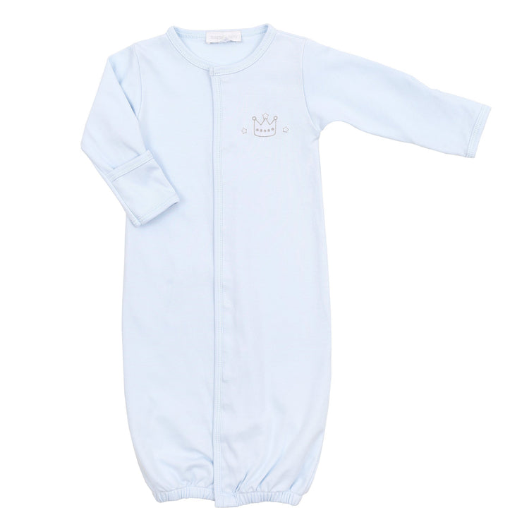 Royal Baby Blue Embroidered Converter