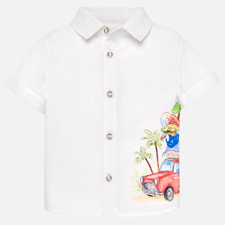 Beach Day Button Up Shirt