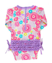 Blooming Buttercups One Piece Rash Guard