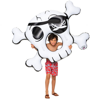 Skull and Crossbones Pool Float