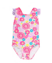 Blooming Buttercup Ruffle Strap One Piece