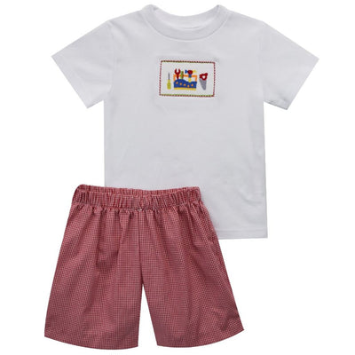 Tools Smocked Short Set