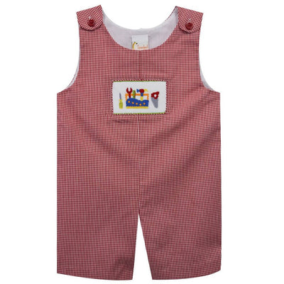 Tools Smocked Shortall