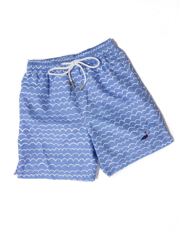 Lil' Duckling Swim Trunks - Wave