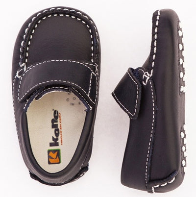 Baby Moccasin - Navy