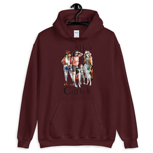 "Unisex ""We Are Clutch"" Hoodie - She's So Clutch"