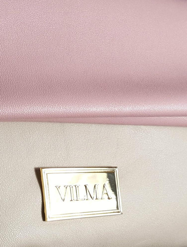 VILMA Fold-over Minimalist Clutch | Vegan Ethical Fashion at AllBellaVita