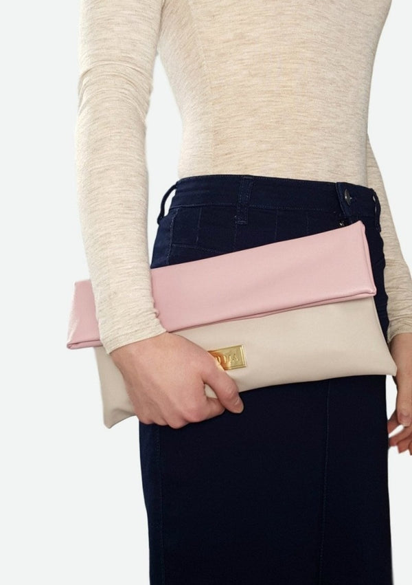 VILMA Fold-over Minimalist Clutch