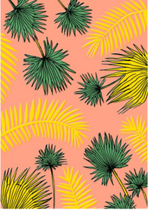Miami Sunrise -                                                                                                                       Brazilian Beach Towel