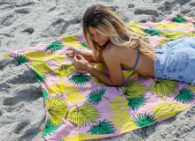 Load image into Gallery viewer, Miami Sunrise -                                                                                                                       Brazilian Beach Towel