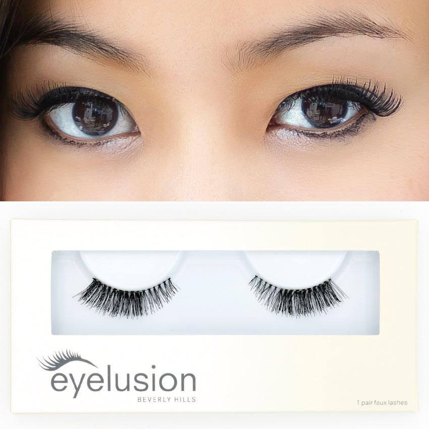 EYELUSION LASHES Beverly Hills SMALL EYE DAY