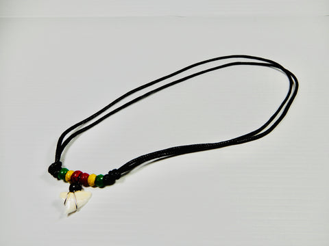7 X Sharks Tooth Necklaces Assorted colours