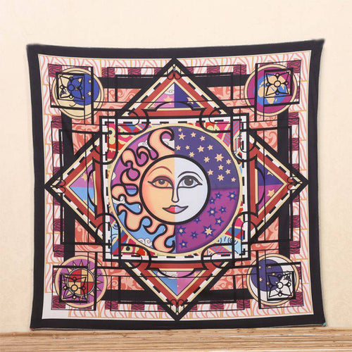 Sun & Moon Hanging Tapestry Decor
