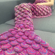 Mermaid Yarn Tail Blanket
