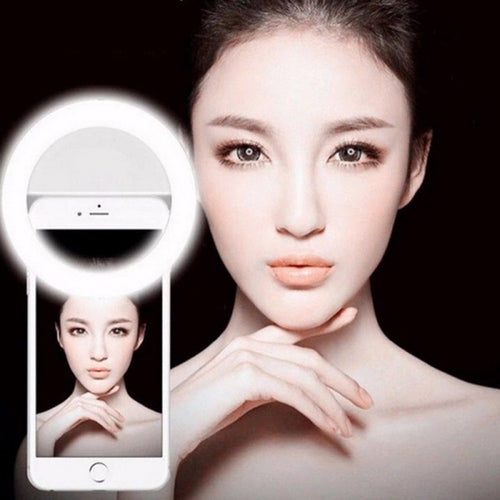 Portable Selfie Ring Light Phone Camera Flash Photo Enhancing Equiptment