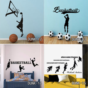 Basketball Home Room Decor Vinyl Wall Sticker Decals For Kids