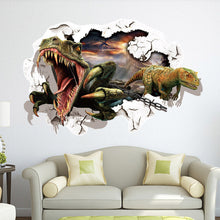 Dinosaur 3D Removable Bedroom Decor Wall Sticker Decal