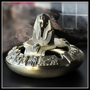 Egyptian Pharaoh Vintage Ashtray
