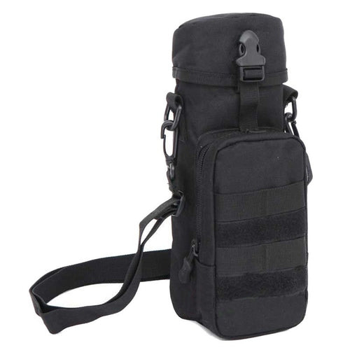 Military Grade Tactical Water Bottle and Phone Bag for Hiking