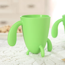 4 piece Stackable Cactus Plant Mugs Set with Spoons for Coffee or Tea Decor