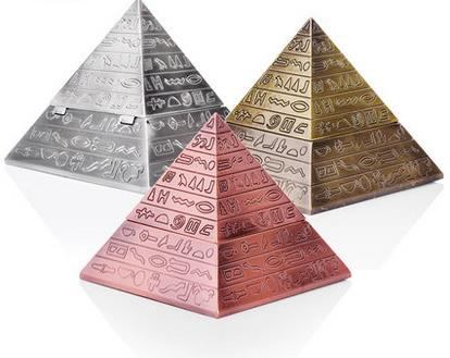 Pyramid Hieroglyphics Ashtray