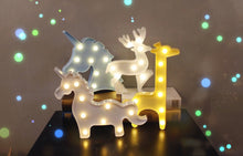 Battery Operated Night Light Lamp Decor