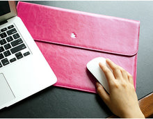 Leather Laptop / Tablet Sleeve Case ; Macbook or iPad