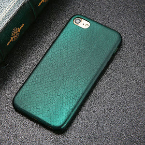 Snake Scales Print iPhone Case ; Multiple Color Options for all iPhones