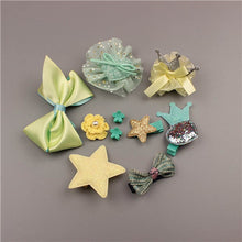 Baby Hair Accessories Set - 10 PCS