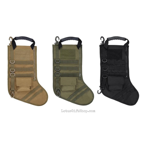 Military Tactical Stocking Christmas Stocking Bag