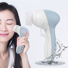 Rotating Waterproof Battery Operated Facial Exfoliating Cleanser Brush