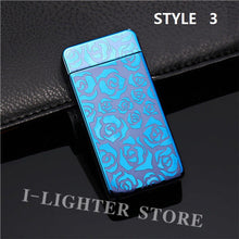 Electronic Flameless Lightning Windproof Lighter