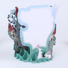 Laser Cut Pop Up Birthday Forest Fairy Card
