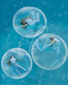 Cirque de Bubbles - Suzanne Barton - Limited Edition