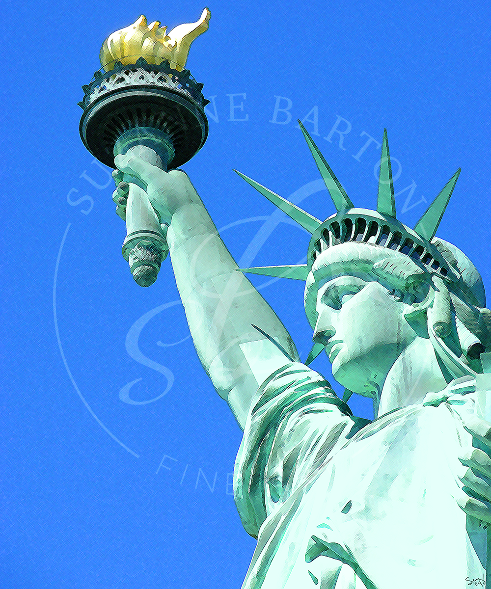 Miss Liberty - Suzanne Barton - Limited Edition