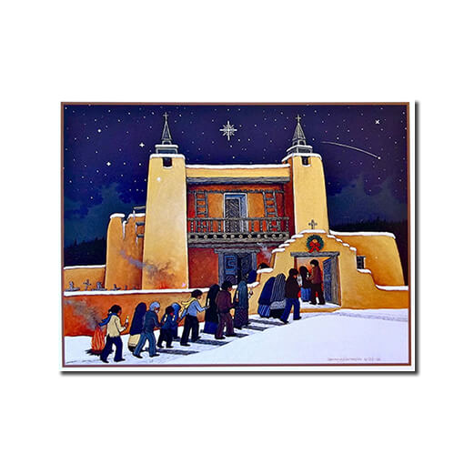 Christmas at Las Trampas - 9 Cards Box