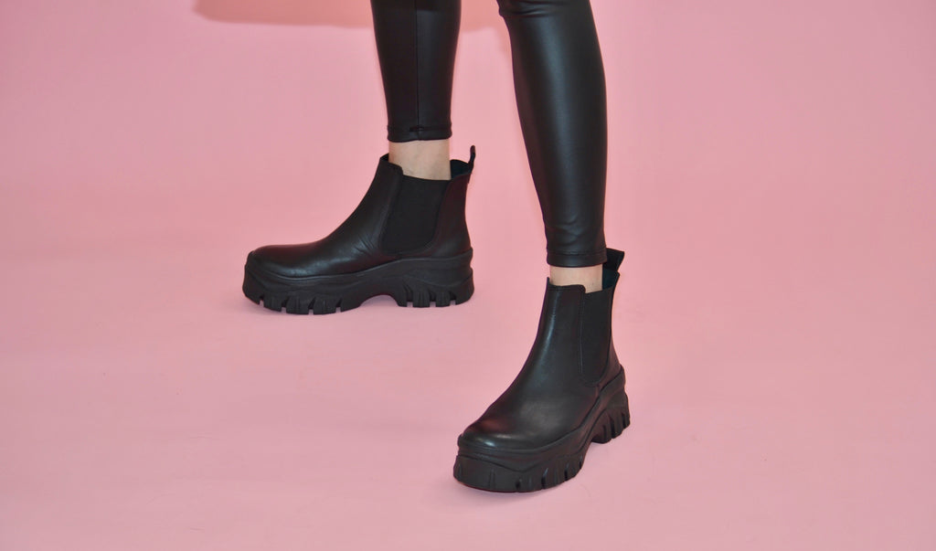 Lug ankle boots Limited Edition